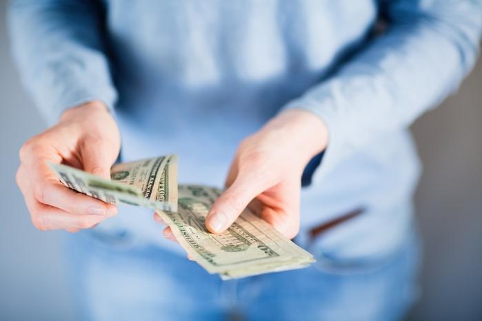Hãy luôn nhớ để riêng ở vị trí an toàn một số tiền mặt nhất định