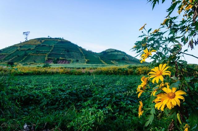 Một góc ngọn núi lửa Chư Đăng Ya