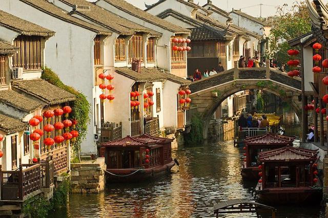 Thị trấn cổ Châu Trang với những nét đẹp hoài cổ như bước ra từ thước phim cổ trang