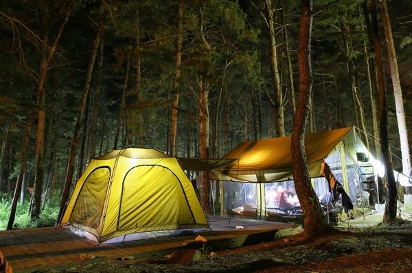 đèn pin lều trại
