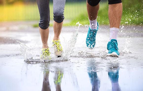 giày lưới thoát nước