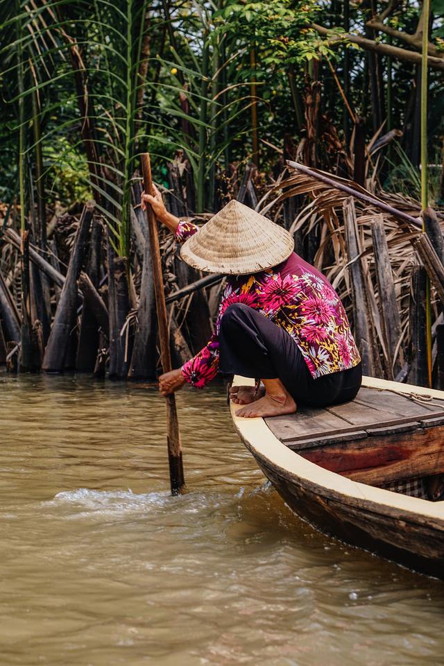 Cuộc sống bình dị của người dân ở đồng bằng sông Cửu Long