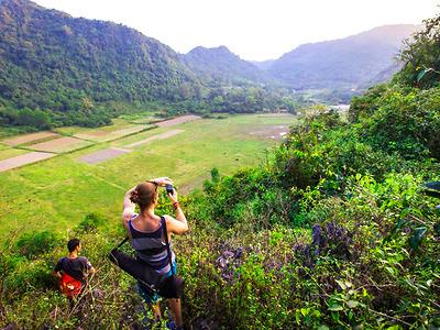 Trekking Tour (CB05) - Lên núi, xuyên rừng, xuống biển