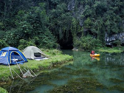 Kayak Tour - Khám phá Thung Nắng