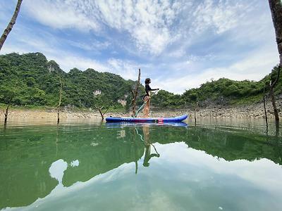 Trek & Kayak Tour (HB05) - Khám phá Vịnh Ngòi Hoa và Hồ Mắt Rồng
