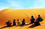 Cung đường chinh phục sa mạc cát lớn nhất Việt Nam