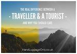 10 so sánh thú vị giữa dân phượt và khách du lịch