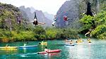Điểm danh 5 đường trượt zipline thách thức nhất ở Việt Nam