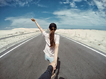 Bàu Trắng – cung đường ven biển đẹp mê ly níu chân phượt thủ