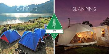 Sự khác biệt giữa Camping và Glamping