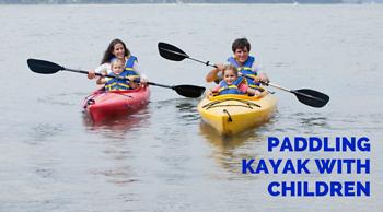 Chèo Thuyền Kayak Cùng Trẻ Nhỏ