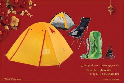 Cắm trại du xuân - Nhận ngay ưu đãi
