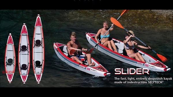 Giới thiệu kayak Kxone Slider - Biến hóa tuyệt vời của Kayak và SUP