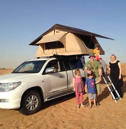Lều gắn nóc ô tô Longroadcamp cho 1 - 2 người cho 3 - 5 người