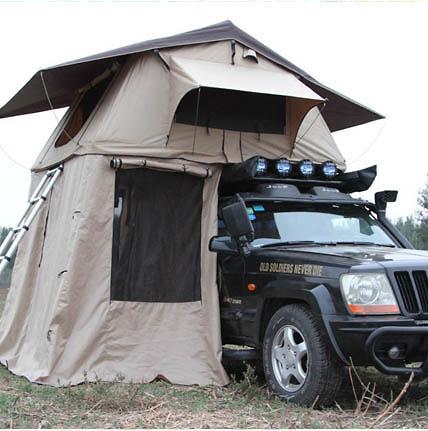 Lều gắn nóc ô tô Longroadcamp cho 2 - 3 người