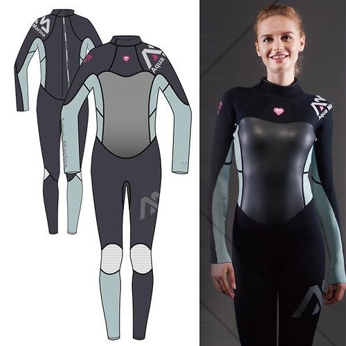 Bộ đồ bơi giữ nhiệt nữ Aqua Marina Wifi Diva Wetsuit 3/2mm C-W17WS