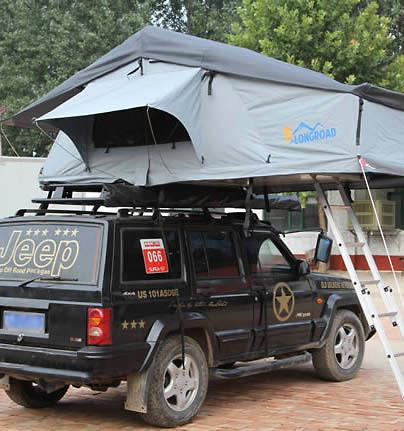 Lều gắn nóc ô tô Longroadcamp cho 2-3 người