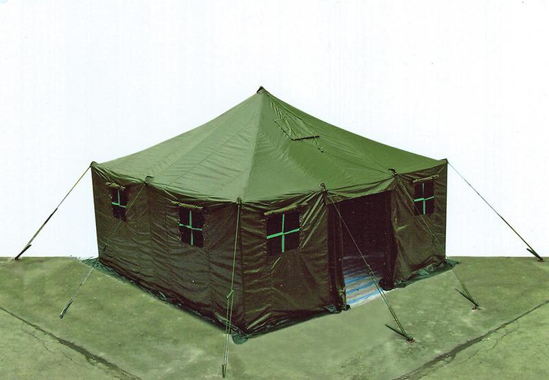 Nhà bạt quân dụng: Tiểu đội