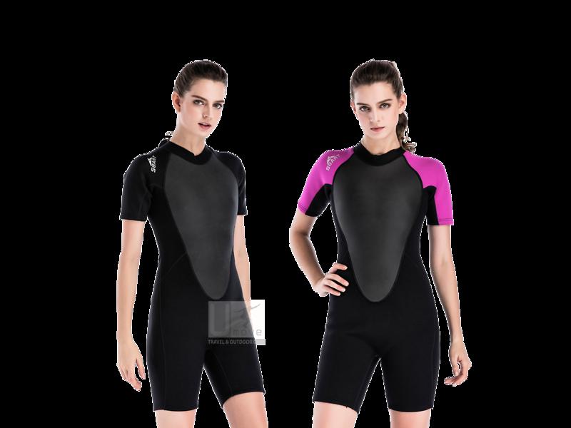 Wetsuit Sbart - Bộ nữ liền ngắn 2mm