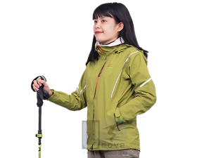 Áo Jacket nữ Weather guide 2L Taped CS-0759V
