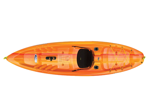 Thuyền Kayak composite Pelican Bounty 100X Angler-Sit-in Kayak
