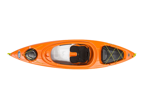 Thuyền Kayak composite Pelican Bounty 100X EXO-Sit-in Kayak