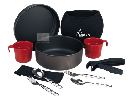 Bộ Nồi Dã Ngoại Non Stick Cooking Set 20Cm With Neoprence Cover