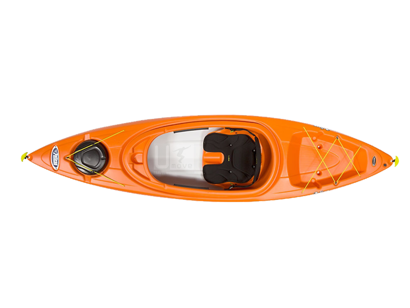 Thuyền Kayak composite Pelican Bounty 100X- Sit-in Kayak
