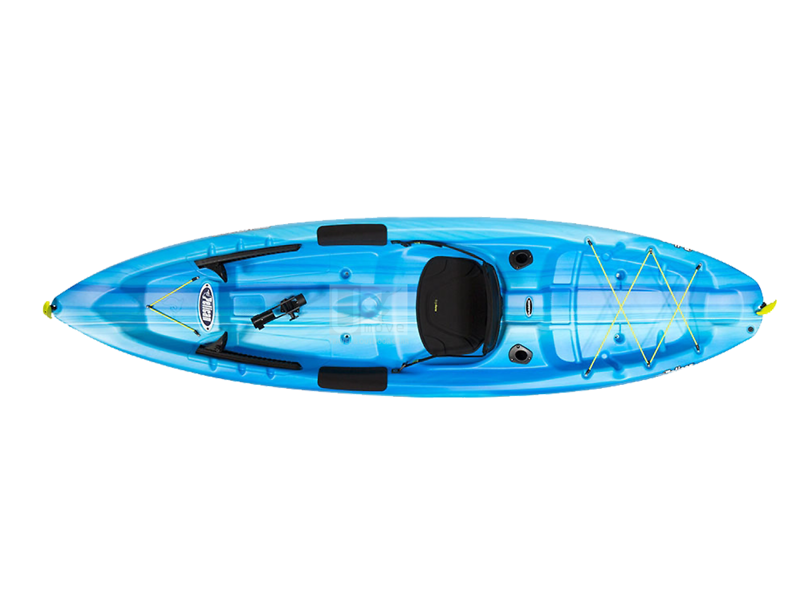 Thuyền Kayak composite Pelican Sentry 100X Angler-New Sit-on-top Kayak