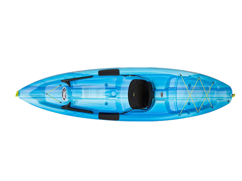 Thuyền Kayak composite Pelican Sentry 100X-New Sit-on-top Kayak