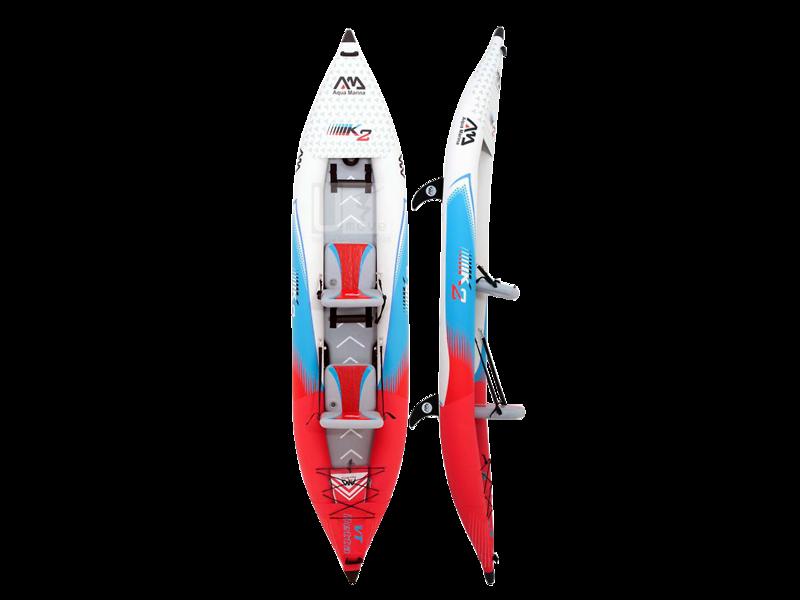Kayak bơm hơi Aqua Marina Betta VT K2 412