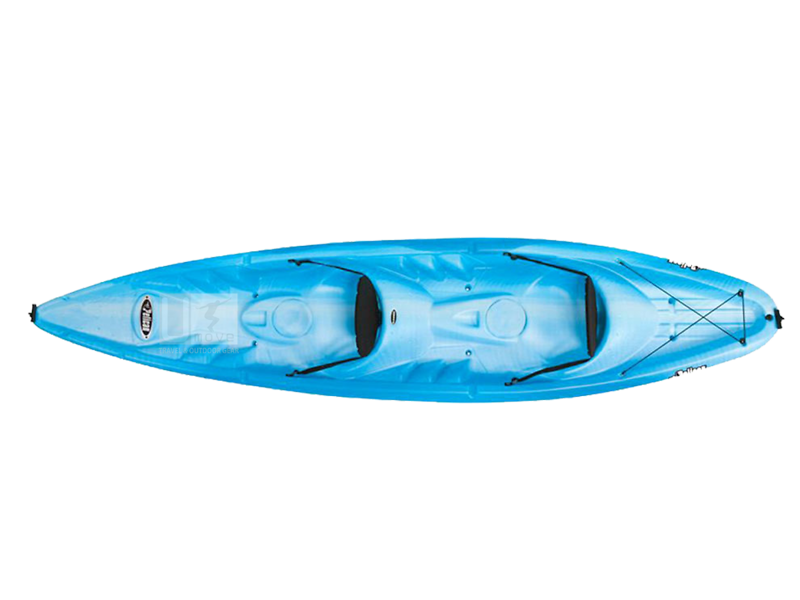 Thuyền Kayak composite Pelican Apec 130T Sit-on-to