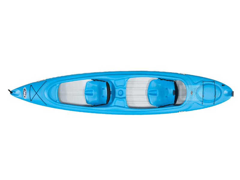 Thuyền Kayak composite Pelican Alliance 136T Sit-in Kayak