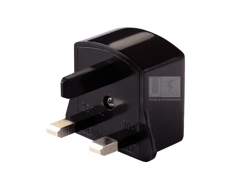 Ổ cắm điện chuyển đổi Lewis N. Clark  Adapter Plug Great Britain E105